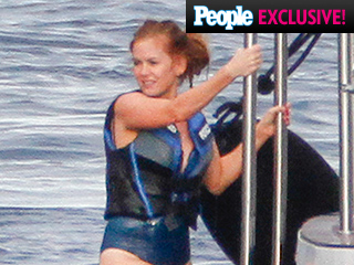 Isla Fisher and Sacha Baron Cohen's Romantic Vacation in the French Riviera: See the Pics!