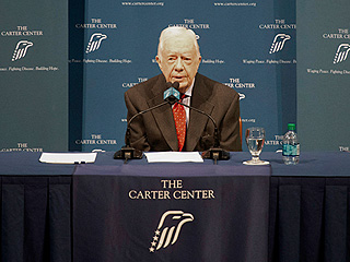 Jimmy Carter Has Melanoma in His Brain: 'I'm Perfectly at Ease with Whatever Comes'