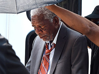 Morgan Freeman Unharmed After Plane Forced to Make Emergency Landing