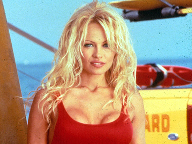 The Baywatch star, Pamela Anderson
