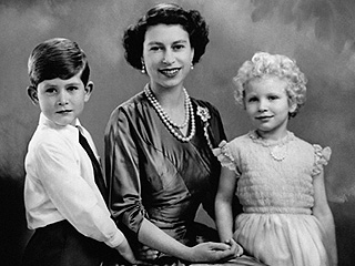 Palace Tweets a Surprisingly Silly Moment Between Young Queen Elizabeth, Prince Charles and Princess Anne