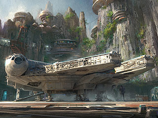 Check out the Stunning Concept Art for Disney's Massive New Star Wars-Themed Parks
