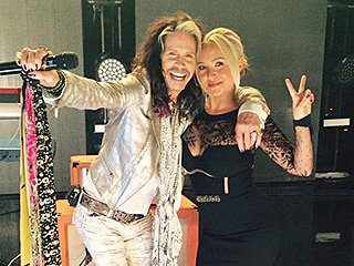 Steven Tyler to Guest Star on Nashville – See the Behind the Scenes Photo!