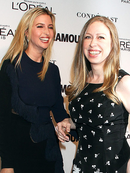 Can Chelsea Clinton and Ivanka Trump's Friendship Survive Their Parents' Presidential Bids? Chelsea Weighs In| 2016 Presidential Elections, politics, Chelsea Clinton, Donald Trump, Hillary Rodham Clinton, Ivanka Trump