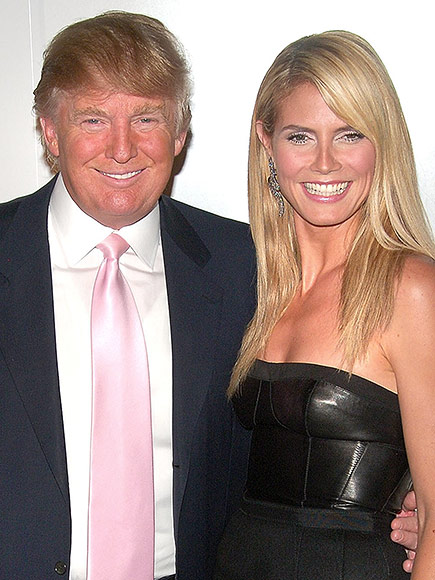 Trump slams model: Heidi Klum Donald Trump