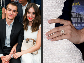 Alison Brie and Dave Franco Are Engaged! And PEOPLE Has All the Details about Her Dazzling Ring