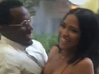 Sean 'Diddy' Combs Throws Surprise Birthday Bash for Cassie (VIDEO)