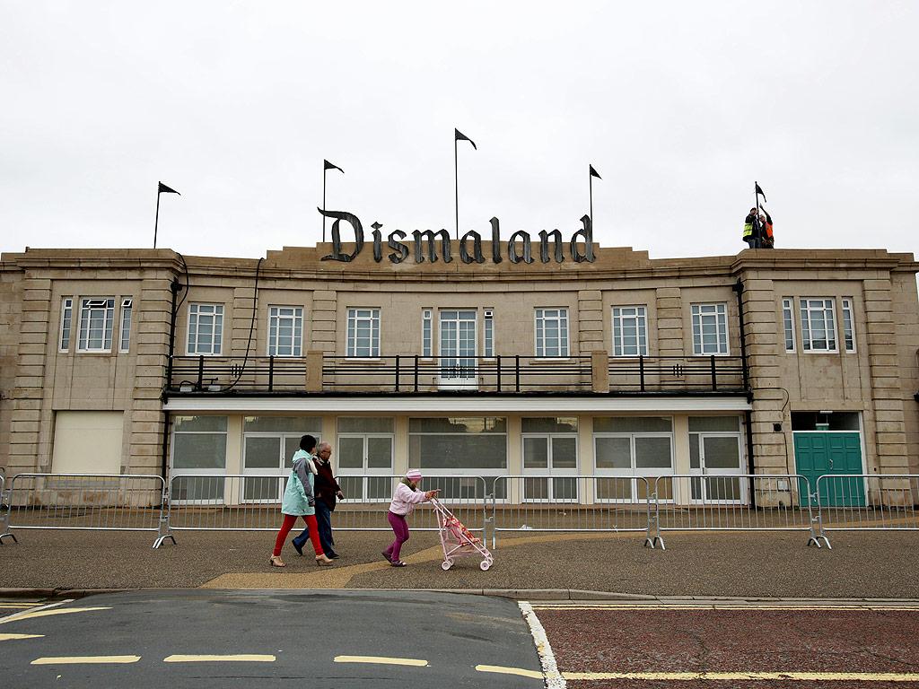 Dismaland Banksy Theme Park