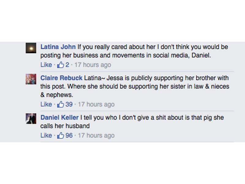 Anna Duggar's Brother Bashes Cheating Husband Josh on Facebook: 'I Won't Stop Trying to Get That Pig out of Our Family'  Sex Scandals, 19 Kids and Counting, Celebrity Scandals, TV News, Anna Duggar, Joshua Duggar, The Duggars