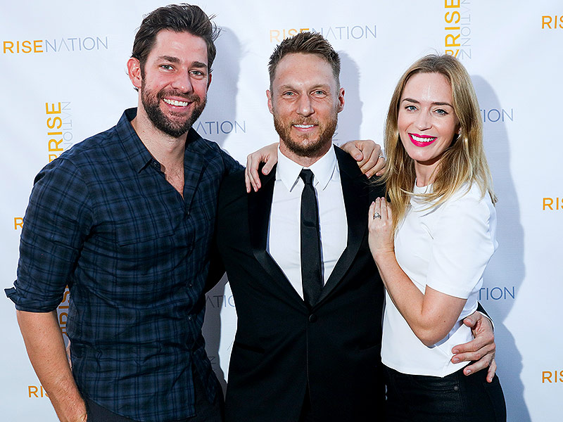 John Krasinski Talks Marriage To Emily Blunt And
