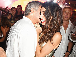 George and Amal Clooney Join Cindy Crawford and Rande Gerber in Ibiza for a Tequila-Related Work Trip: See the Glam Pics!