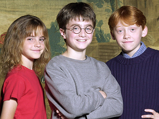 FROM EW: The Harry Potter Film Cast was Announced 15 Years Ago This Week