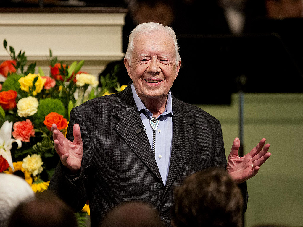 Jimmy Carter Officially Ends Cancer Treatments