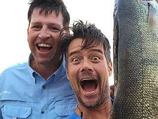 Colossal Catch! Josh Duhamel Reels In a 'Whopper' of a Fish in North Dakota