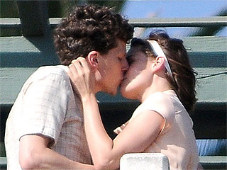 Pucker Up: Kristen Stewart and Jesse Eisenberg Lock Lips on Set of New Woody Allen Film