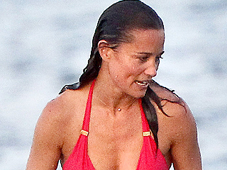 Red Hot! Pippa Middleton Shows off the Results of Training for Grueling 47-Mile Race