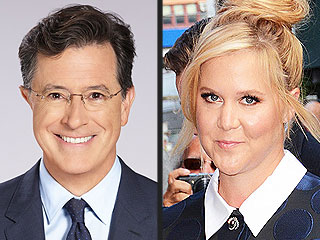 Amy Schumer, Scarlett Johansson to Stop by The Late Show in Stephen Colbert's First Week