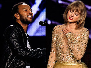 'All of Me Loves All of T': John Legend Joins Taylor Swift Onstage for Duet