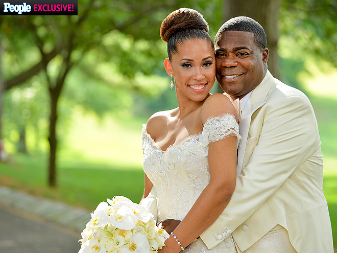 Tracy Morgan Megan Wollover Wedding