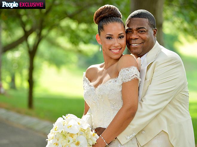 Tracy Morgan Megan Wollover Wedding