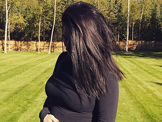 Bristol Palin Shares Pic of Six-Month Baby Bump: 'Feeling Like a Tannnkk'