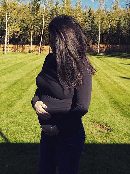 Bristol Palin's Baby Bump
