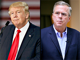 Donald Trump and Jeb Bush's Twitter War: Trump Says He'd Have 'Done Better' Preventing 9/11; Bush Calls Trump 'Pathetic'