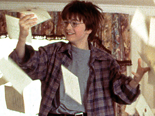 Today Is Harry Potter's Son's First Day of School!