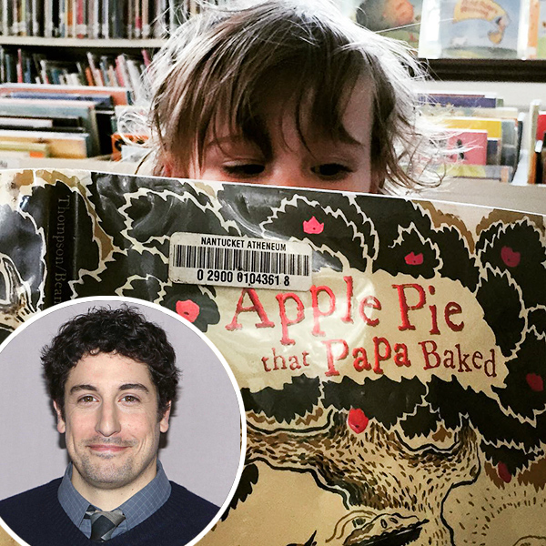 Jason Biggs Takes Photo of Son Sid