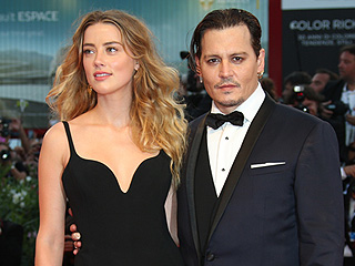 Johnny Depp and Amber Heard Make Rare Public Appearance at the Venice Film Festival