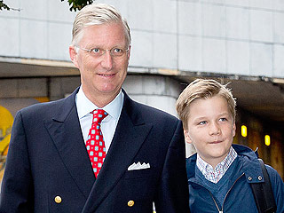 Proud Dad! Belgian King Walks His Kids to School – Plus More Royal First-Day Photos