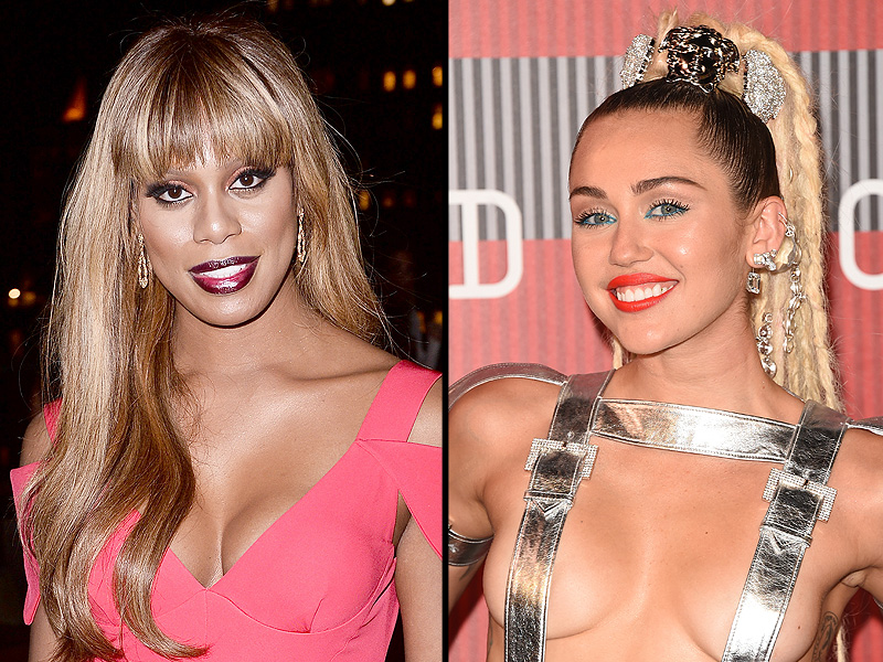 Laverne Cox Praises Miley Cyrus' 'Epic Trans Moment' at VMAs