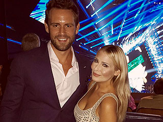 Bachelor Alums Nick Viall and Sadie Murray Cozy Up at VMAs Afterparty