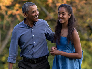 President Obama 'Freaked Out' That Malia Is Heading to College