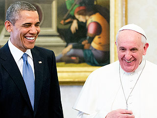 President Obama to Pope Francis: I'll Pick You Up At the Airport