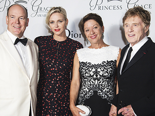 Princess Charlene and Prince Albert Bring Royal Glamour While Honoring Robert Redford at the Princess Grace Awards Gala in Monaco