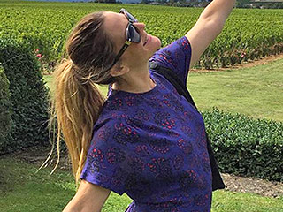 Drew Barrymore Is 'Happy as Can Be' While Researching Her Next Wine in France