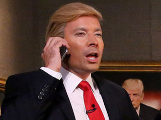 Jimmy Fallon Hilariously Plays Donald Trump's Reflection on The Tonight Show