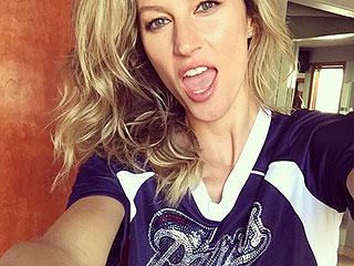 Gisele Bündchen Cheers on Husband Tom Brady at Patriots' Season Opener