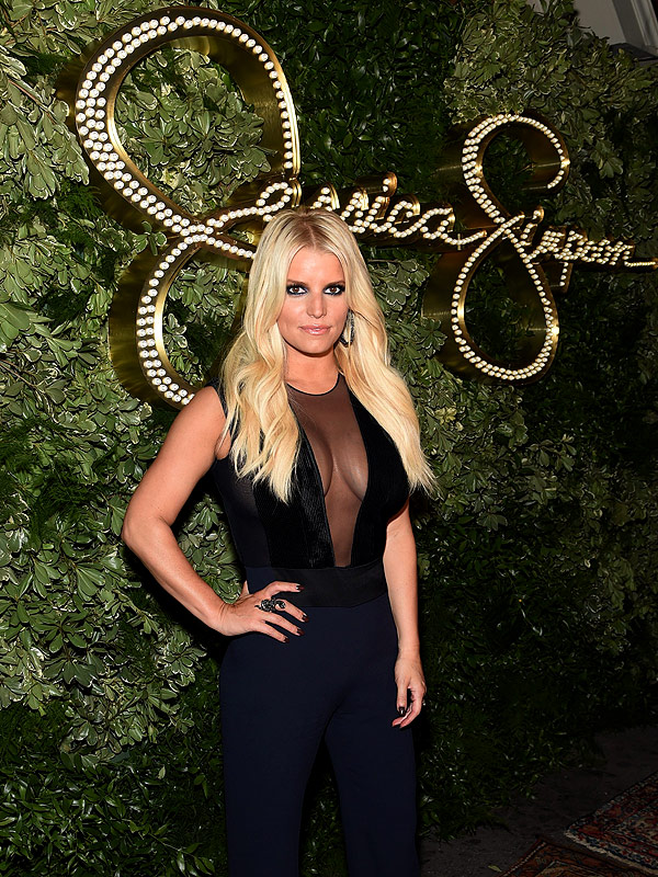 JEssica Simpson 10th anniversary party