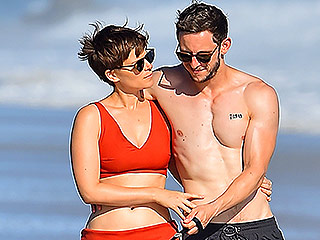 The Fantastic Two: Kate Mara and Jamie Bell 'Looked Totally in Love' During Malibu Beach Date