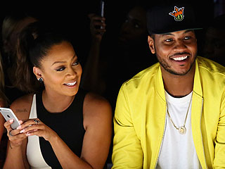 La La and Carmelo Anthony Step Out After Shutting Down Rumors of Marital Strife