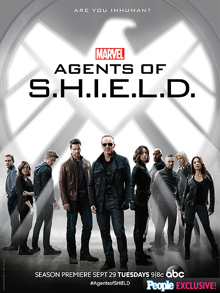Chloe Bennet and Clark Gregg Show Off Edgy New Looks in Agents of S.H.I.E.L.D. Poster| Agents of S.H.I.E.L.D., People Picks, TV News, Clark Gregg