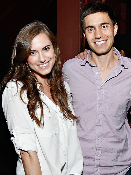 allison williams marries ricky van veen peoplecom