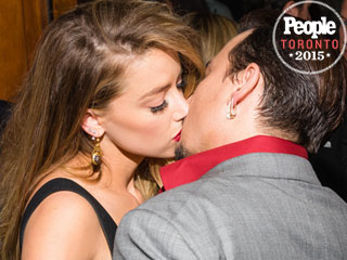 Johnny Depp and Amber Heard Get Hot and Heavy on the Red Carpet (Again!)