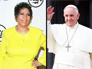 FROM EW: Aretha Franklin Will Perform for Pope Francis