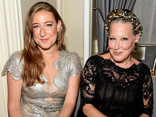 Who's That Girl? Bette Midler and Look-Alike Daughter Turn Heads at Fashion Week