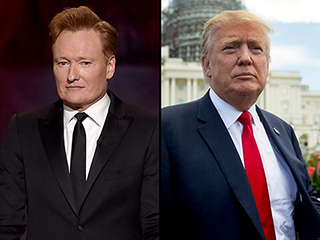 Conan O'Brien Says Writing Jokes About Donald Trump Is 'Absurd': 'We've Had Insane People Run for President'