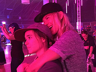 Ellen Page Shares PDA-Filled Photo with Girlfriend Samantha Thomas: 'High School Dance Vibes'