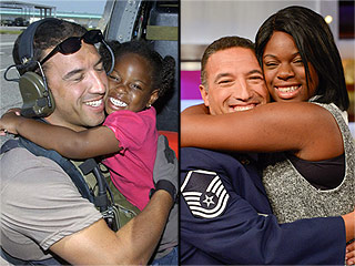 Air Force Vet Has Emotional Reunion with 'Katrina Girl' He Saved: 'You Rescued Me More Than I Rescued You'